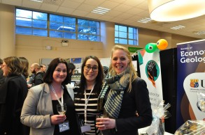 IAWG Committee Members Dr Aoife Blowick (NUIG -iCRAG), Siobhán Burke (UCC- iCRAG) and Dr Roisin Kyne (UCD-iCRAG)