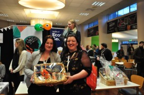 Aisling Scully (NUIG) won an impressive Franciscan Well Hamper