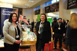 Siobhán Power (GSI) scooped our main prize - a delicious wine and chocolates hamper!