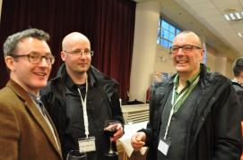 Dr Eoghan Holohan (UCD), Prof. John Murray (NUIG - iCRAG) and Dr Tiernan Henry (NUIG - iCRAG)