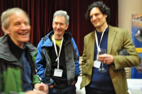 Prof. Ken Higgs (UCC), Prof. Peter Haughton (UCD - iCRAG) and Dr Quentin Crowley (TCD - iCRAG)